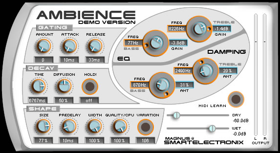 Ambience - Reverb - Plugin Reverb/Delay - TOP10 - Classement - WE COMPOZE