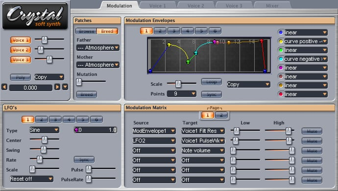 Plugin, VST, Crystal, Synth, Sound Design, MAO