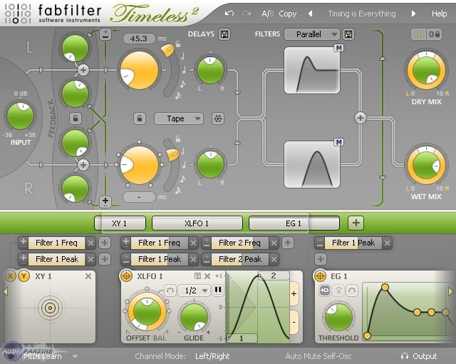 FabFilter Timeless 2 - Plugin Reverb/Delay - TOP10 - Classement - WE COMPOZE