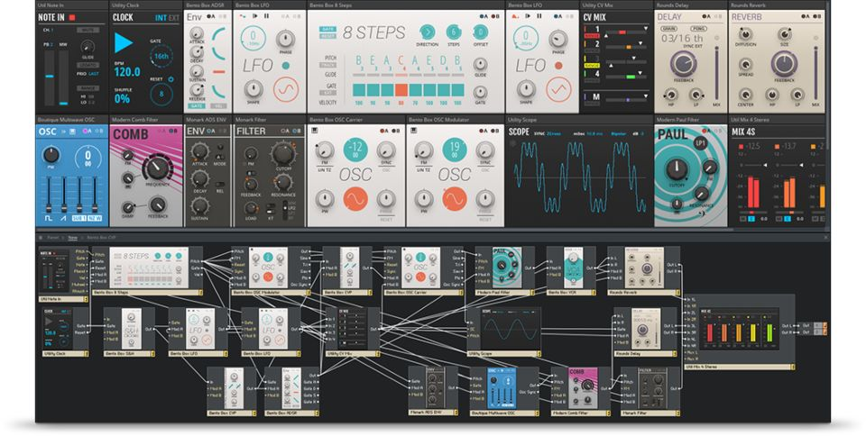 Plugin, Synth, VST, Reaktor, Native Instruments