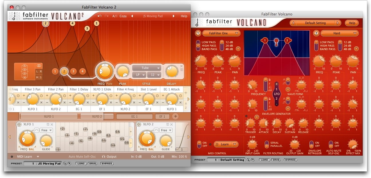 FabFilter Volcano 2 - Plugin filtres - TOP10 - Classement - WE COMPOZE